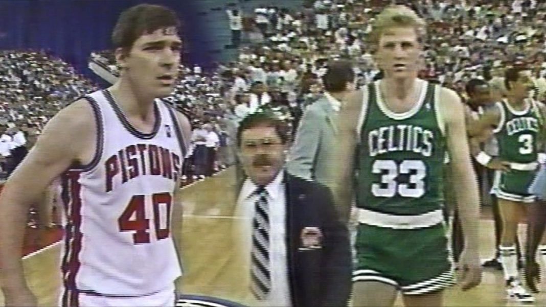 larry bird bill laimbeer fight