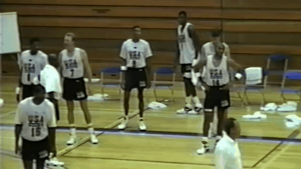 1992 dream team practice