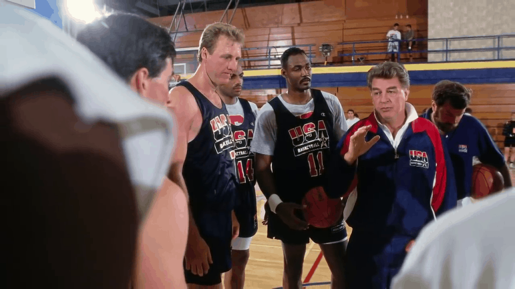 chuck daly larry bird karl malone 1992 dream team