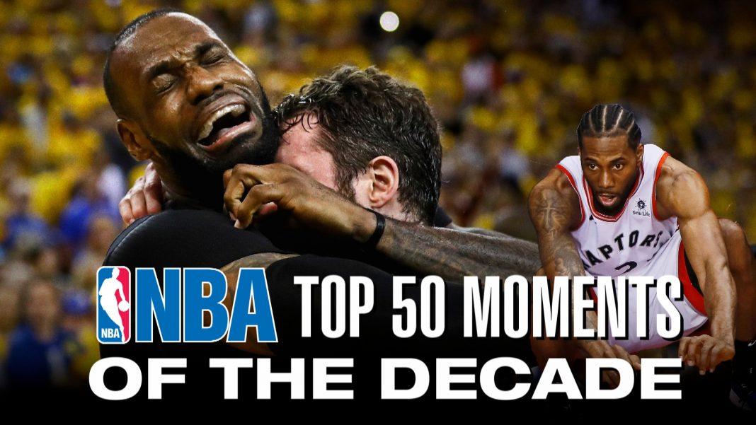 nba top 50 moments of decade
