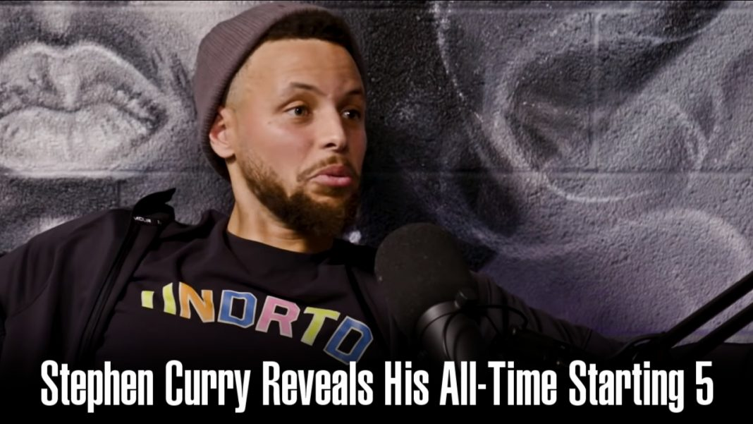 stephen curry starting five