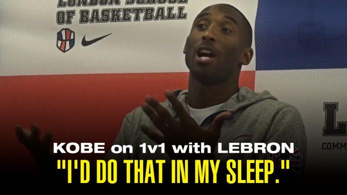 Kobe 1on1 with LeBron
