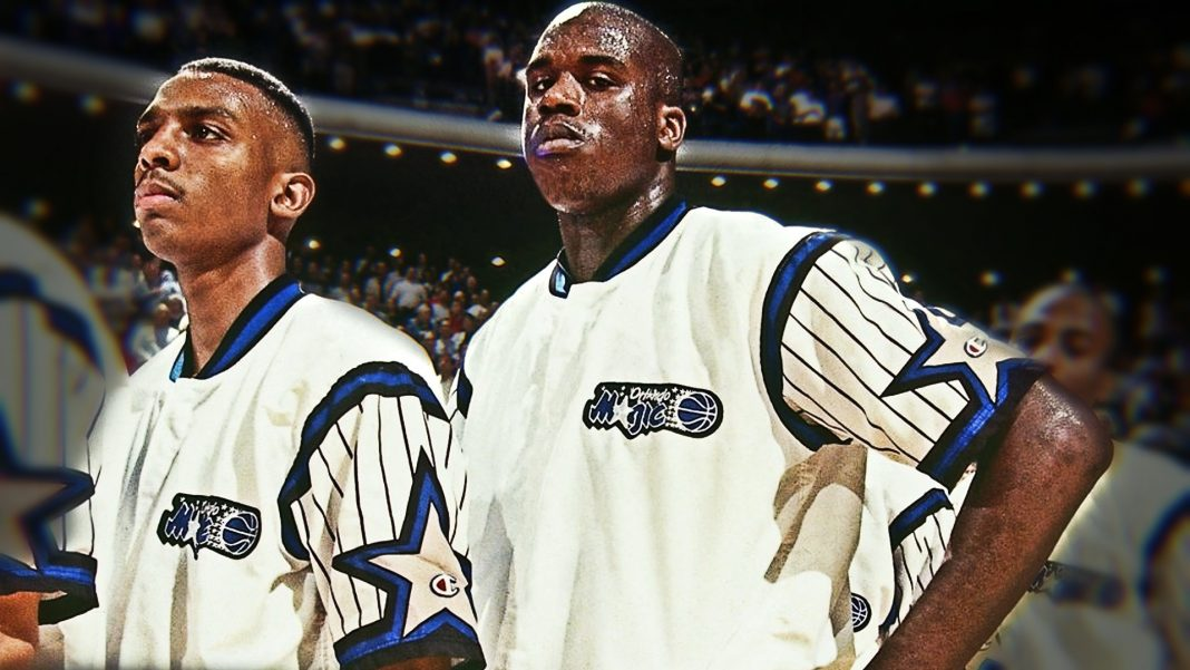 shaq and penny hardaway blue chips