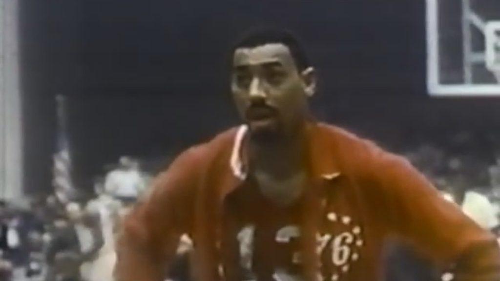 Wilt Chamberlain in the NBA