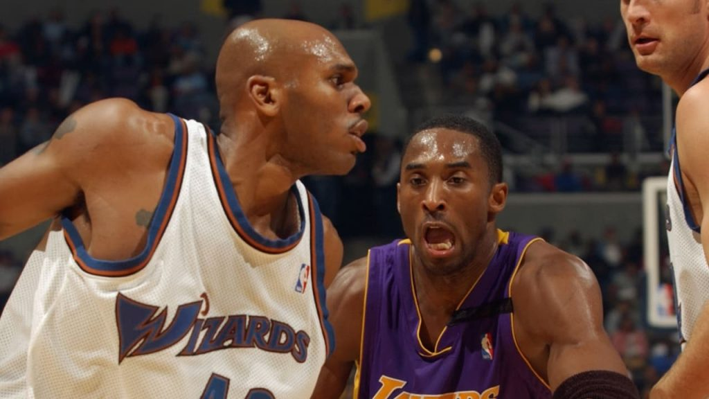 Jerry Stackhouse and Kobe Bryant