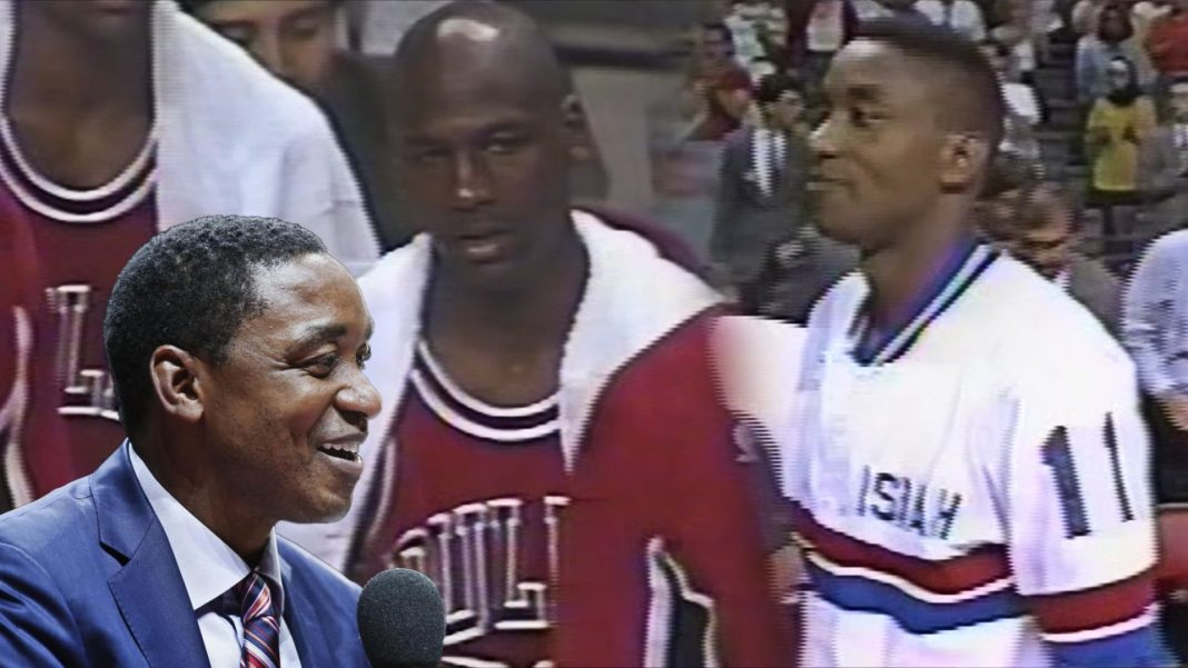 isiah thomas michael jordan walkoff 1991