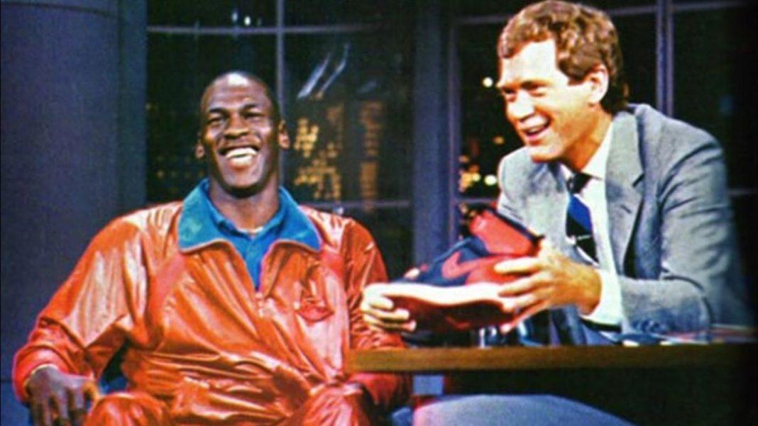 michael jordan and David Letterman interview in 1986