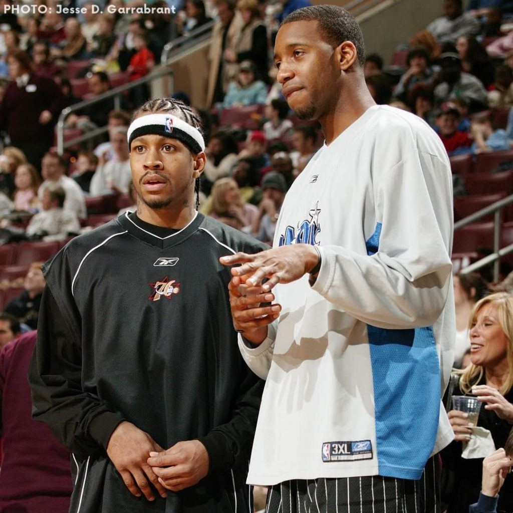 tracy mcgrady and allen iverson in 2003