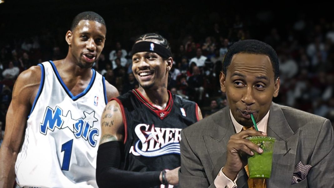 tracy mcrgrady allen iverson and stephen a. smith