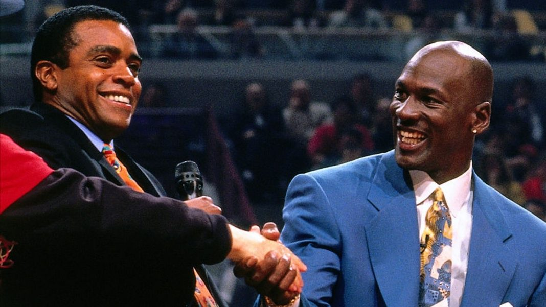 ahmad rashad and michael jordan