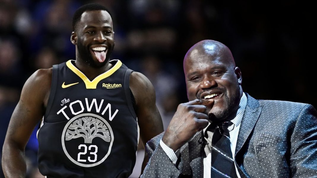 draymond green and shaq beef