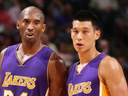 Jeremy Lin and Kobe Bryant