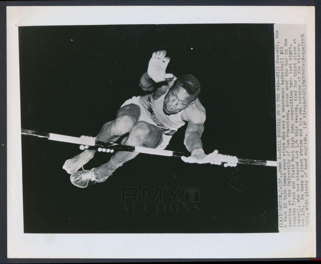Bill Russell high jump