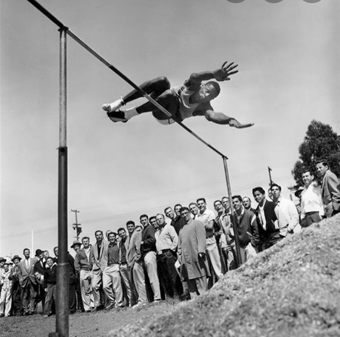 bill russell in track and field 1956
