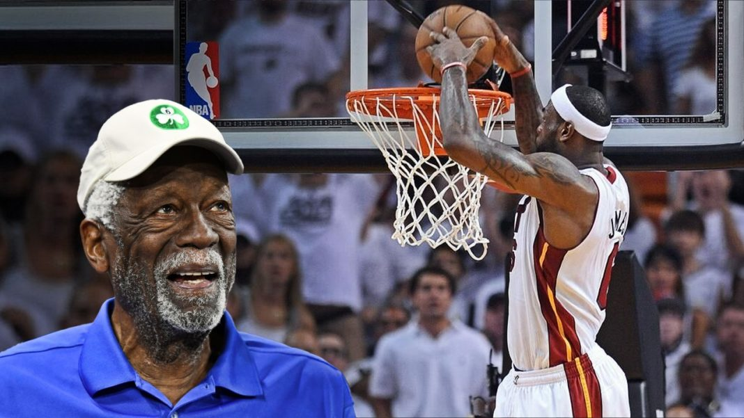 bill russell and lebron james