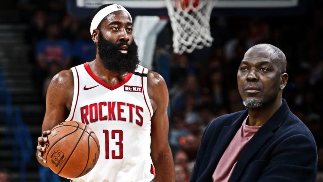 hakeem olajuwon and james harden
