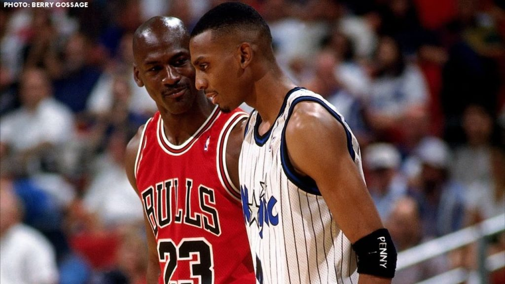 michael jordan and penny hardaway in 1995 playoffs