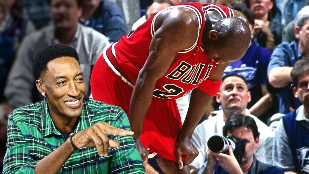 scottie pippen michael jordan flu game