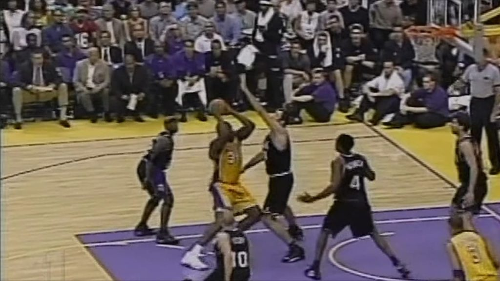 Lakers Vs. Kings 2002 Game 7 Divac Vs. Shaq