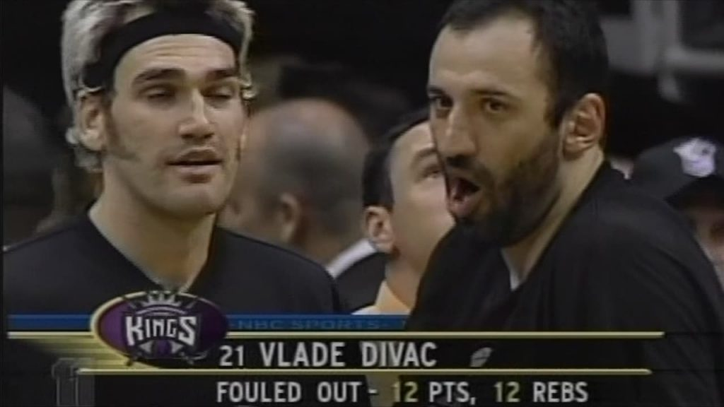 Lakers Vs. Kings 2002 Game 7 Divac Fouled Out