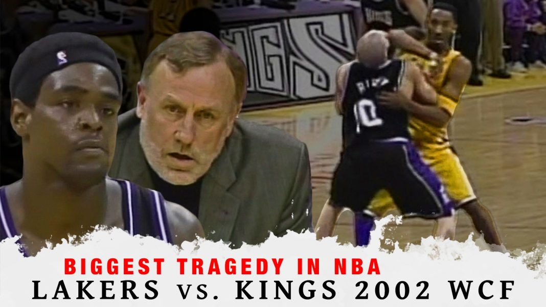 Lakers Vs. Kings 2002 Western Conference Finals
