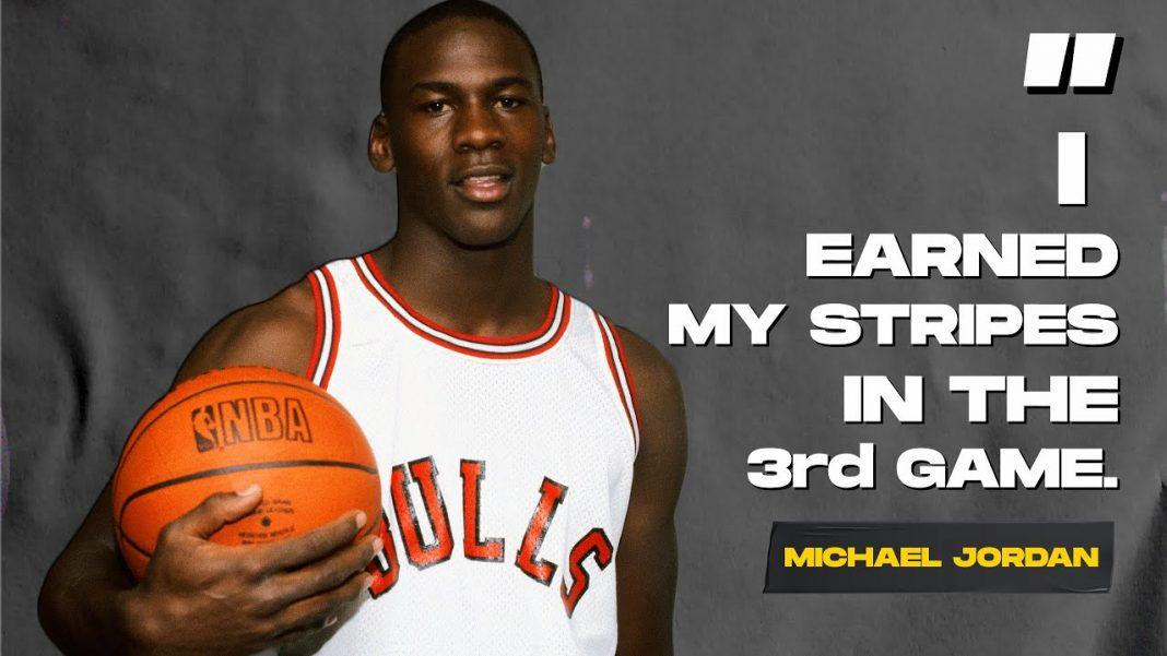 Michael Jordan the 3rd game